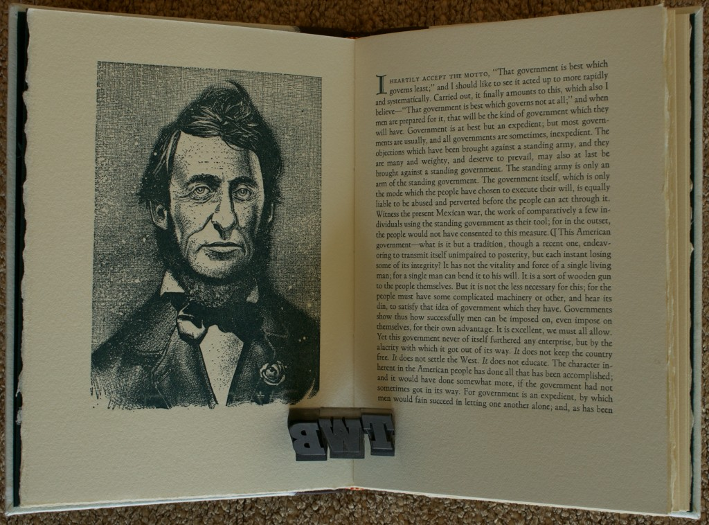 henry david thoreaus integrity essay The relevance of henry david thoreau civil disobedience without knowing about thoreau's seminal essay on the hard work and doing a job with integrity.