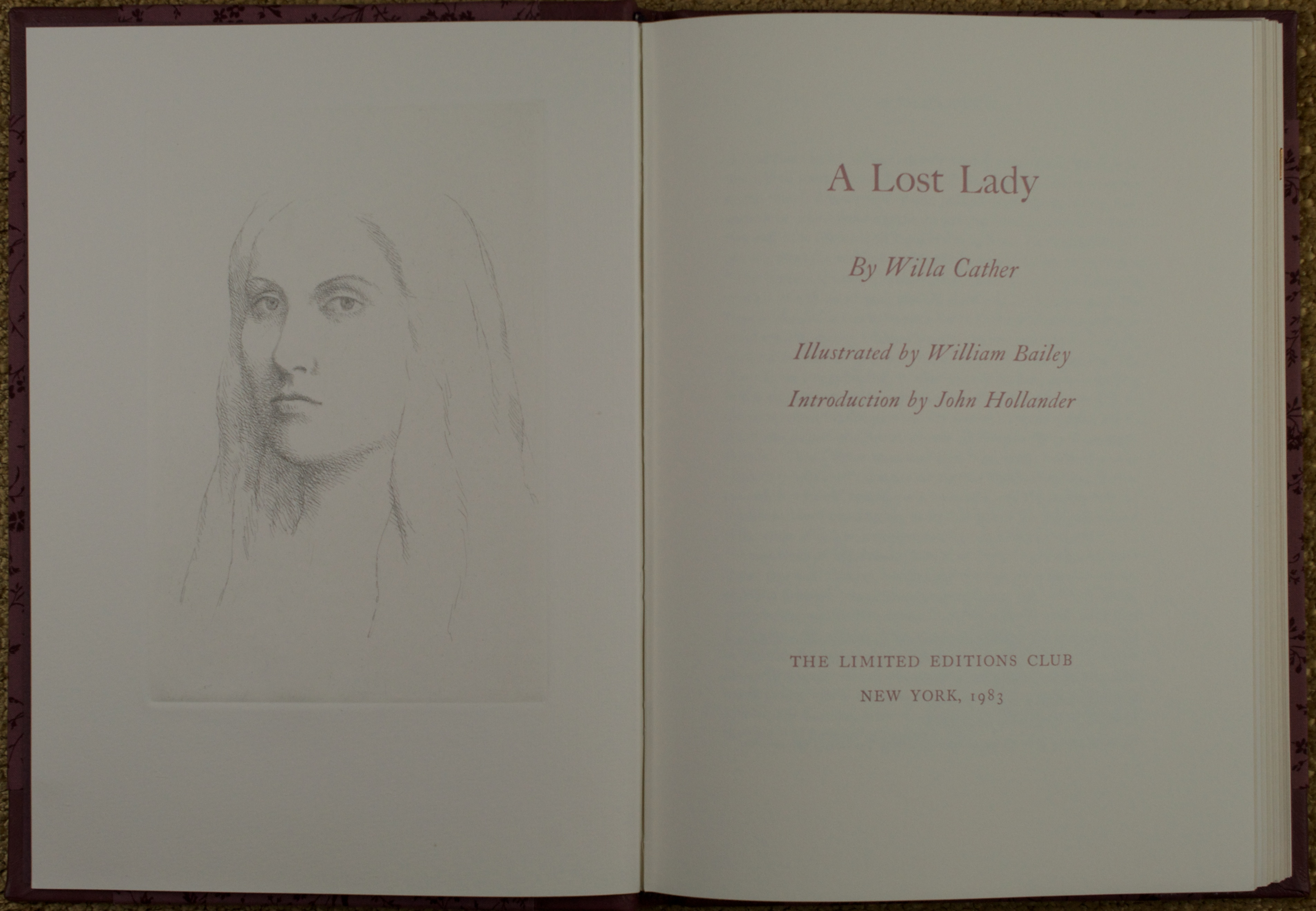 lost lady Two days before marian and ned are to be married, he is killed by the husband of a woman he was seeing on the side marian becomes withdrawn and they send her to the.