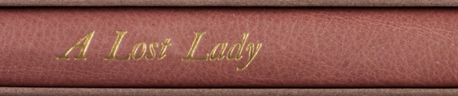 Lost Lady Header